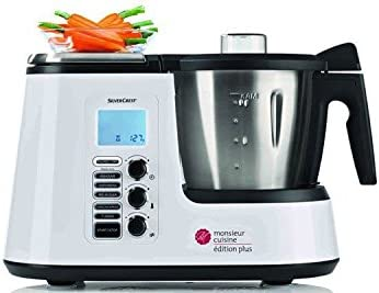 SILVERCREST Robot de Cocina Monsieur Cuisine Edition Plus SKMK 1200 A1: Amazon.es: Hogar