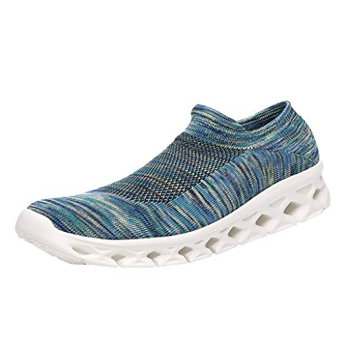COPPEN Sneakers Running Sports Socks Elastic Force Light Leisure Shoes Sky - Josef Shoes Seibel Ladies