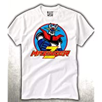Mazinger Z Cartoon 80's Playera Rott Wear