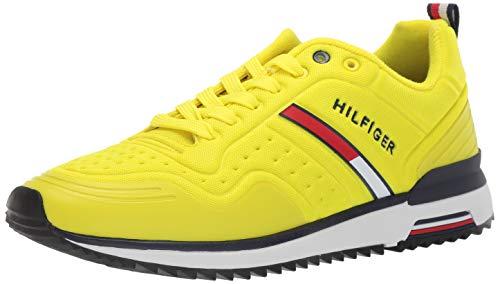 (Tommy Hilfiger Men's Vion Sneaker, Yellow, 12 M US)