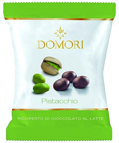 Domori - Dragees Dark Chocolate covered Pistachios (Dark Chocolate Covered Pistachios)