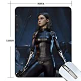 Alita - Battle Angel Gaming Mouse Pad Non-Slip Rubber Mousepad 11.81 X 9.84 inches Rectangle Mouse Mat Smooth Surface Mouse Pads