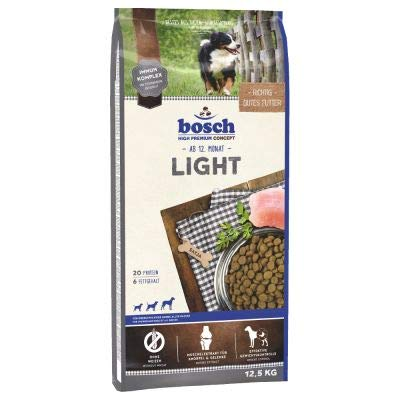 Dog Food bosch Light Dry Wheat-free with a reduced energy content Economy Pack  2 x 12.5kg