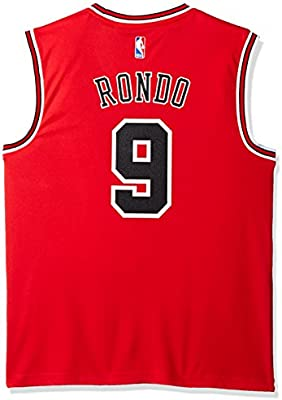 finest selection 6723d a38f3 NBA Chicago Bulls Rajon Rondo #9 Men's Road Replica Jersey ...