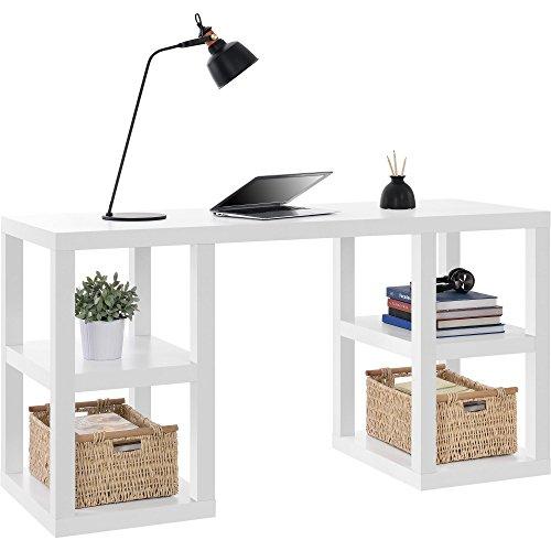 Altra Furniture Altra Parsons Deluxe Desk White White