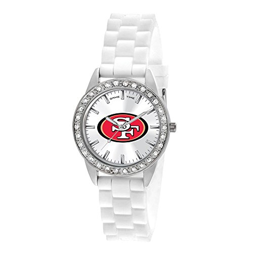 Gifts Watches Ladies NFL San Francisco 49ers Frost Watch ()
