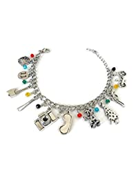 Stranger Things inspired Toggle Clasp Charm Bracelet - Great Gift for Fans