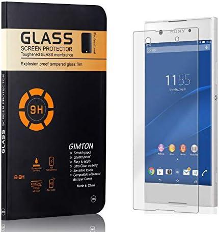 GIMTON Displayschutzfolie für Sony Xperia XA1, 9H Härte, Blasenfrei, Anti Öl, Ultra Dünn Kratzfest Schutzfolie aus Gehärtetem Glas für Sony Xperia XA1, 1 Stück