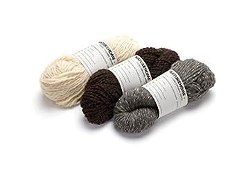 Amazonde Naturehome Effektgarn Schurwolle Wolle Stricken Häkeln