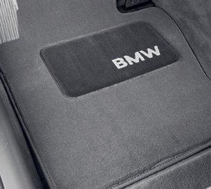 BMW Carpet Floor Mats 128i & 135i Convertible (2008 onwards) - Gray