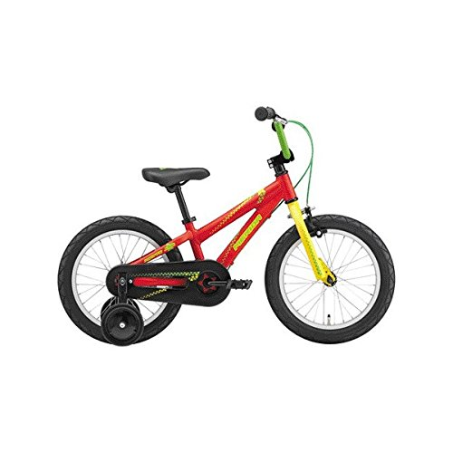 メリダ(MERIDA) 子供用自転車 MATTS J16 マットレッド/イエロー/グリーン(ER24) FMMT168 16インチ B0759611MH