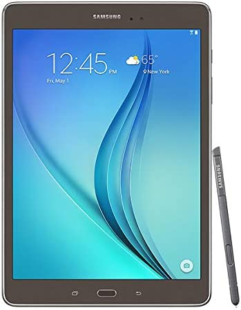 Amazon Com Samsung Galaxy Tab A With S Pen 9 7 16 Gb Wifi Tablet Smoky Titanium Sm P550nzaaxar
