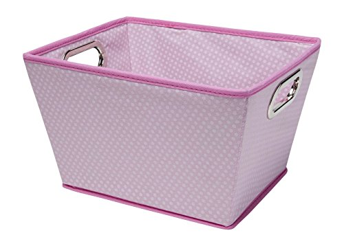 - Delta Children Rectangle Tapered Tote, Pink