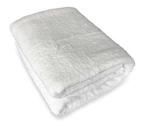 Goza Towels %100 Cotton Oversized Bath Sheet Towel (40 x 70 inches) ()