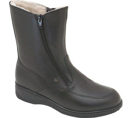 Finn Comfort Womens 2175 Minsk Leather Boots Black 4GWhpEL1w