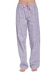 CYZ Women's 100% Cotton Woven Sleep Pajama Pants