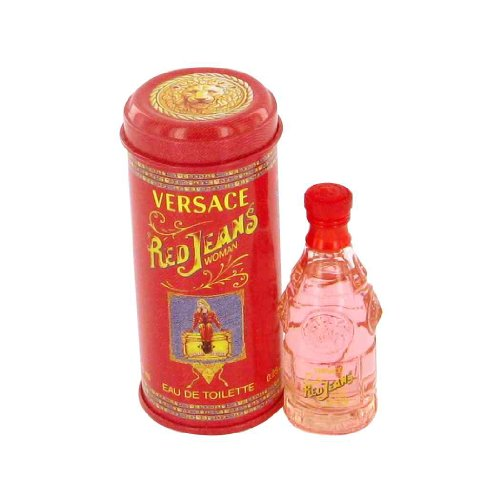 - RED JEANS by Gianni Versace EDT .25 OZ MINI for WOMEN