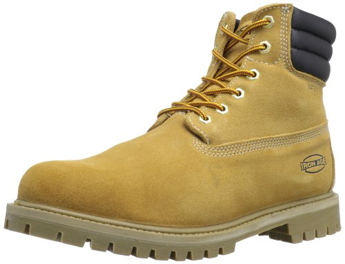 Iron Age Men's Ia0161 Steadfast Industrial and Construction Shoe, Wheat, 10 M US