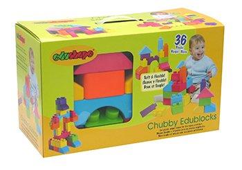 Edushape EDU845036 Chubby Edublocks by Edushape