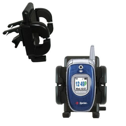 Gomadic Air Vent Clip Based Cradle Holder Car / Auto Mount suitable for the Samsung PM-A740 PM-A840