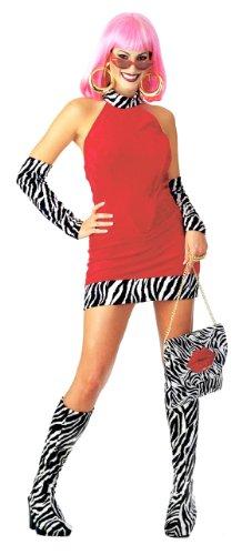 Red Hot Mama Costume - Small - Dress Size 6-10