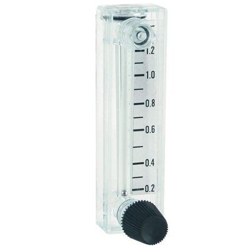 Dwyer Mini-Master Series MMA Flowmeter, Range 5-60 GPH Water