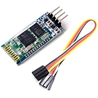 WINGONEER 5Pcs HC-06 Wireless 4 Pins Bluetooth RF Transceiver Serial Modul+ 4 set cable for Arduino