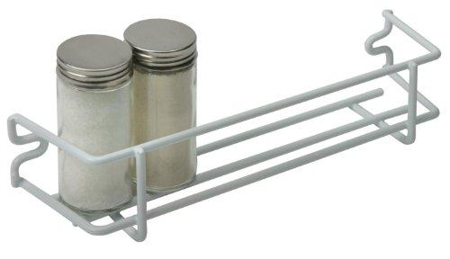 White Single Shelf Spice Rack