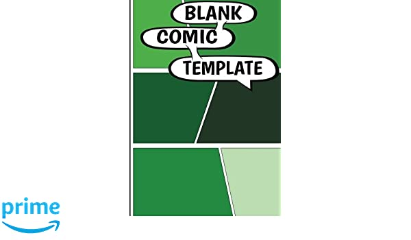 Amazon com: Comic Book Template - Blank Comic Book - 7 by 10