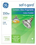 Ge 48037 150W PAR38 Floodlight Bulb, 1700 Lumens, 6 Pack