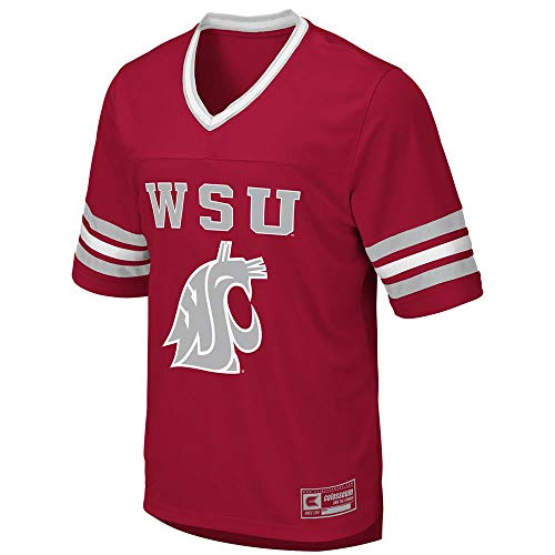 Colosseum Mens Washington State Cougars Football Jersey - M
