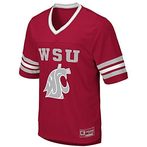 Colosseum Mens Washington State Cougars Football Jersey - XL