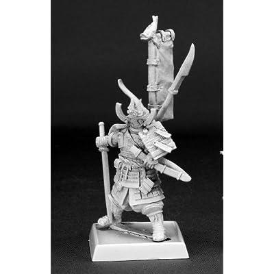 Reaper Samurai Pathfinder Miniature: Toys & Games