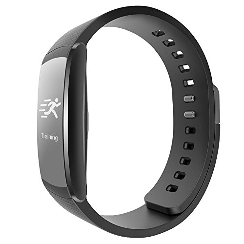 Tincint i6 Pro Fitness Tracker - Smart Wristband with Dynamic Heart Rate and Deep Light Sleep Monitor - Steps Distance Track Calories Counter Activity Touch Screen Bracelet for Android and IOS(Black)