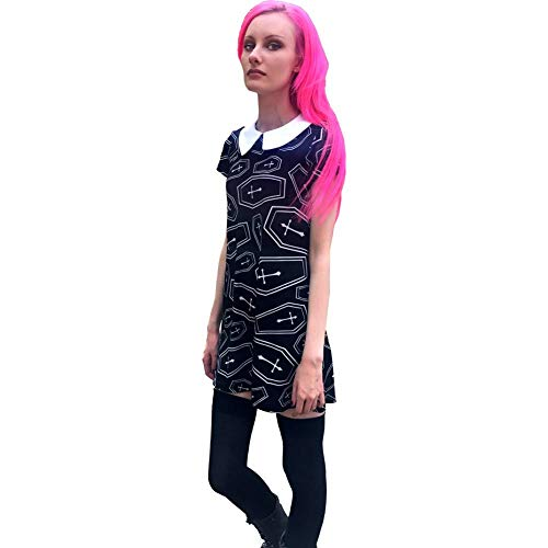 Folter Women's Rip Dress Black XL -