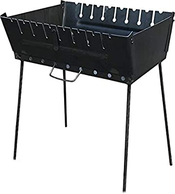 Amazon.com: Prettyshop4246 - Parrilla para barbacoa (8 ...