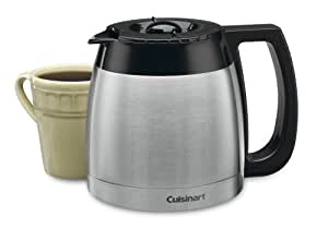 Cuisinart DCC-755BRC 10-Cup Replacement Thermal Carafe, Black