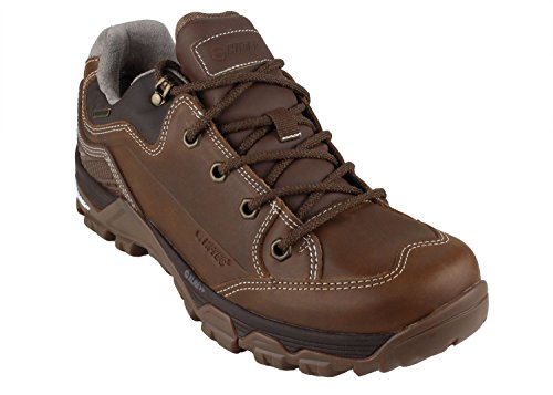 - Hi-Tec Outdoor Shoes OX Discovery Low I WP Men Brown Size EU 43 - US M10