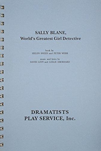 Sally Blane, World's Greatest Girl Detective..