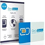 GigSky 4G LTE/3G Data SIM Card with Pay As You Go Data Plans for USA, Canada, Mexico, Europe, Asia, Middle East, and…