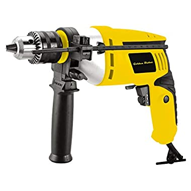 Golden Bullet HI93 600W 13mm Reversible Impact Drill With 6 FREE drill bits and Variable Speed 8
