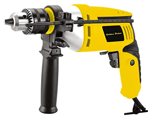 Golden Bullet HI93 600W 13mm Reversible Impact Drill With 6 FREE drill bits and Variable Speed 1