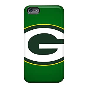 Scratch Protection Cell-phone Hard Cover For Apple Iphone 6s Plus With Unique Design High Resolution Green Bay Packers Skin LeoSwiech