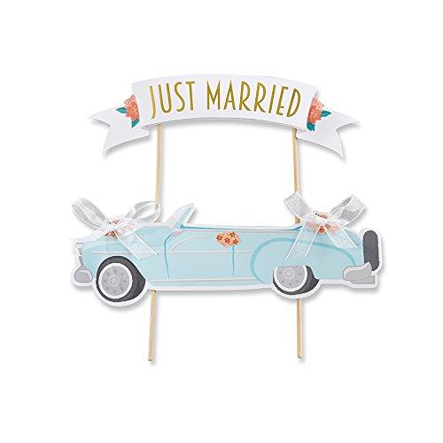 Kate Aspen 28321NA Just Married Vintage Car Cake Topper -