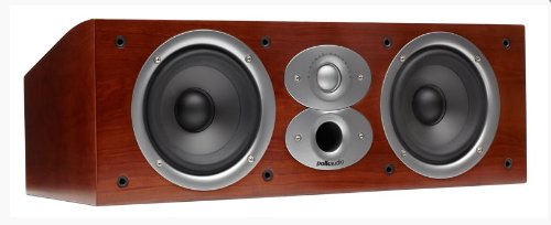 Polk Audio CSI A4 Center Channel Speaker (Single, Cherry) by Polk Audio