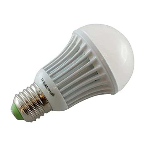 OTL 4000090 - Bombilla LED, 9 W, temperatura de color 3000 k, casquillo E27, color blanco: Amazon.es: Iluminación