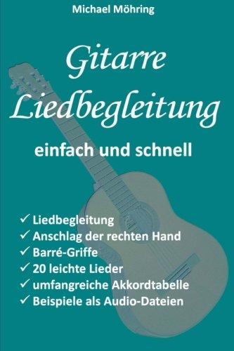 Gitarre Liedbegleitung  [Möhring, Michael] (Tapa Blanda)