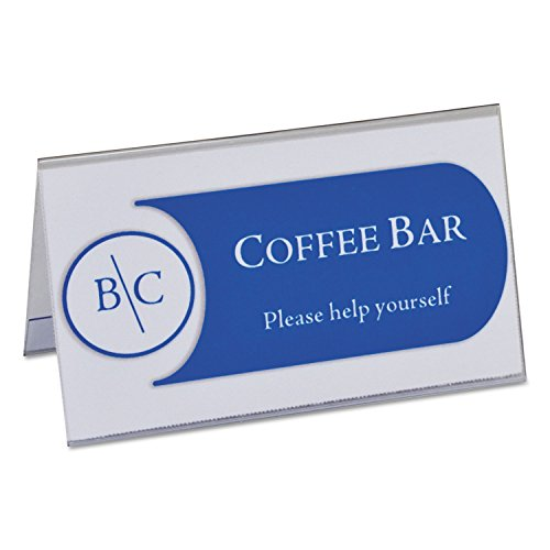 C-Line 87537 Tent Card Holders, 2