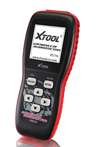 Xtool PS701 JOBD2 OBD2 Car Diagnostics Tools for Toyota/ Honda/ Mitsubishi/ Subaru/ Isuzu/ Suzuki/ Mazda/ Nissan Vehicles - Black by XTOOL (Image #4)