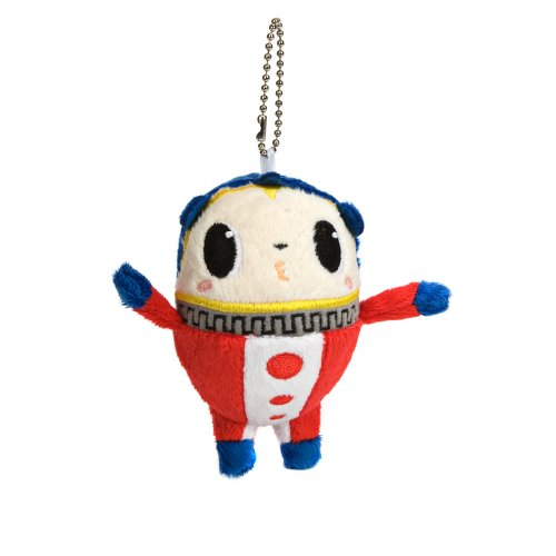 Persona 4 Teddie Kuma Kiss Mini Plush